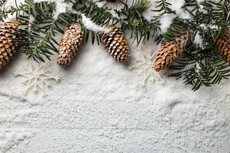 idéias para decorar na neve do Natal