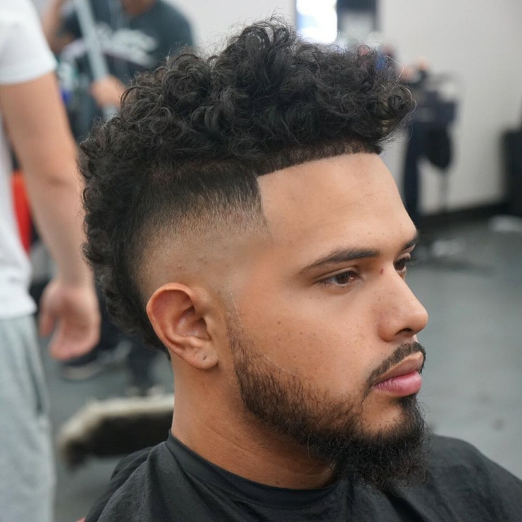 hair-curly-Mohawk-style
