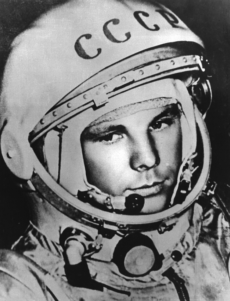 Yuri Gagarin antes do voo