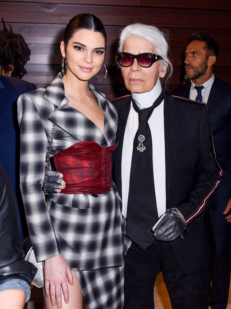 Lagerfeld-Kendall-Jenner-work-together