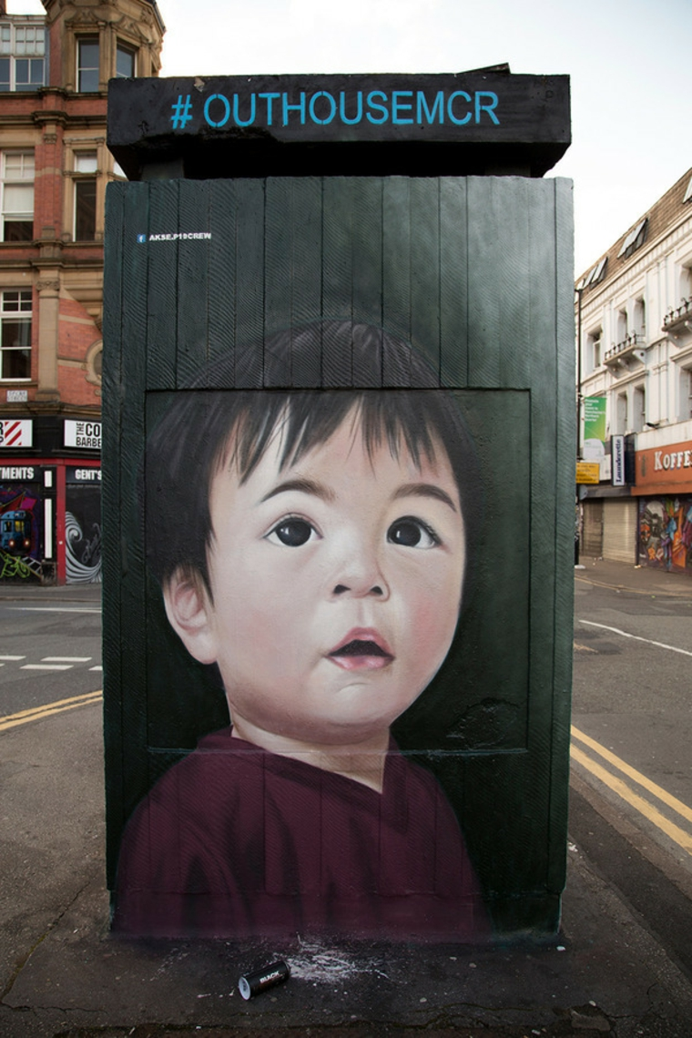 Street Art Toddler