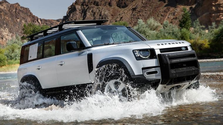 land rover water