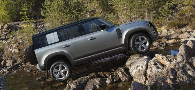 Land Rover lateral