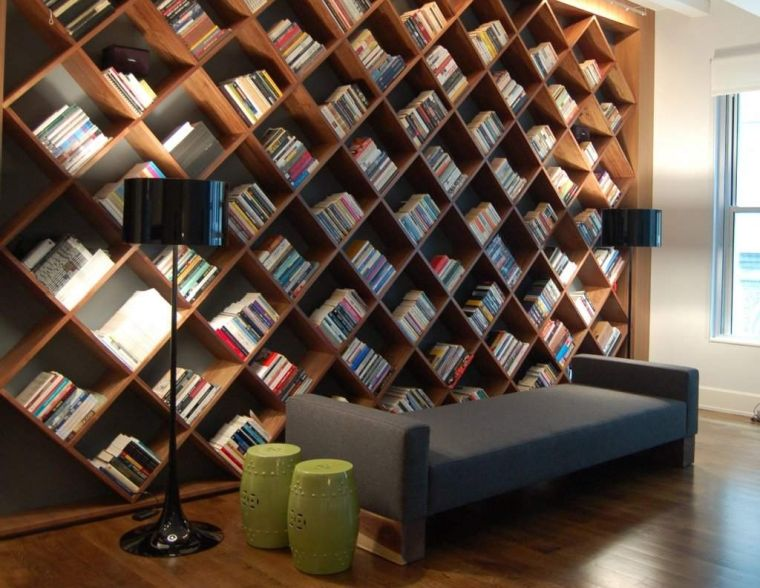 home library rhombus