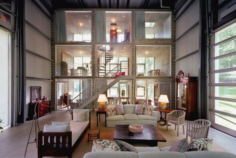 kalkin interior container house
