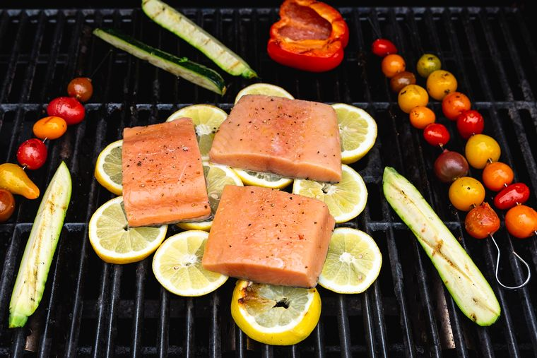The Lemon Fish Trick Grill