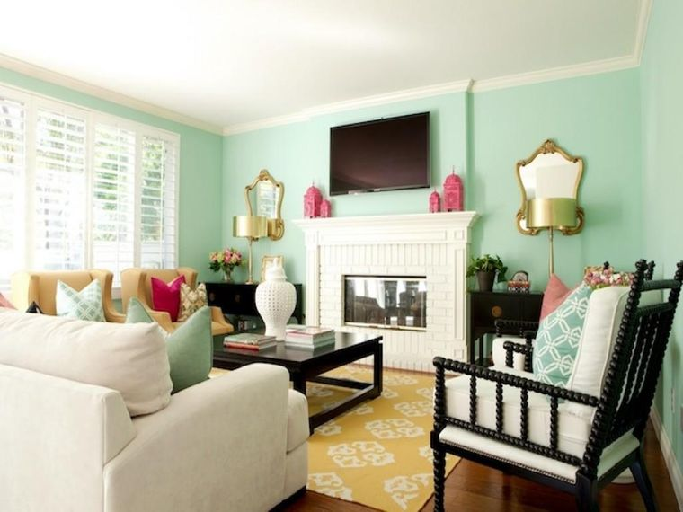 color green small space