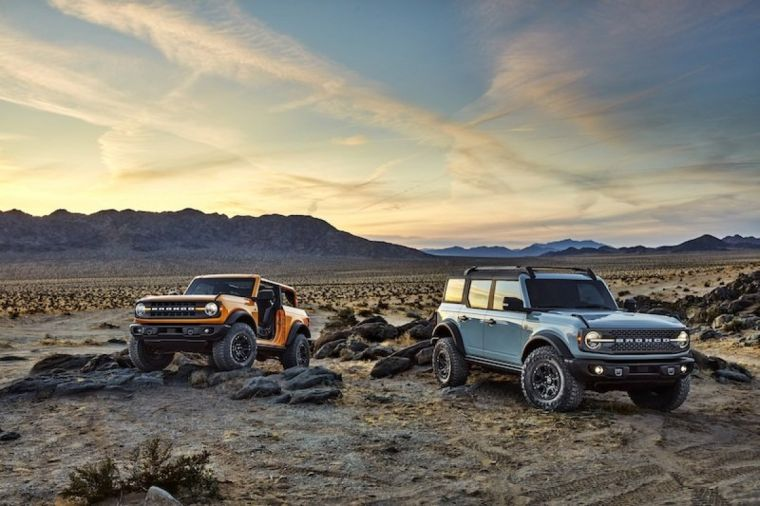ford bronco smart technology