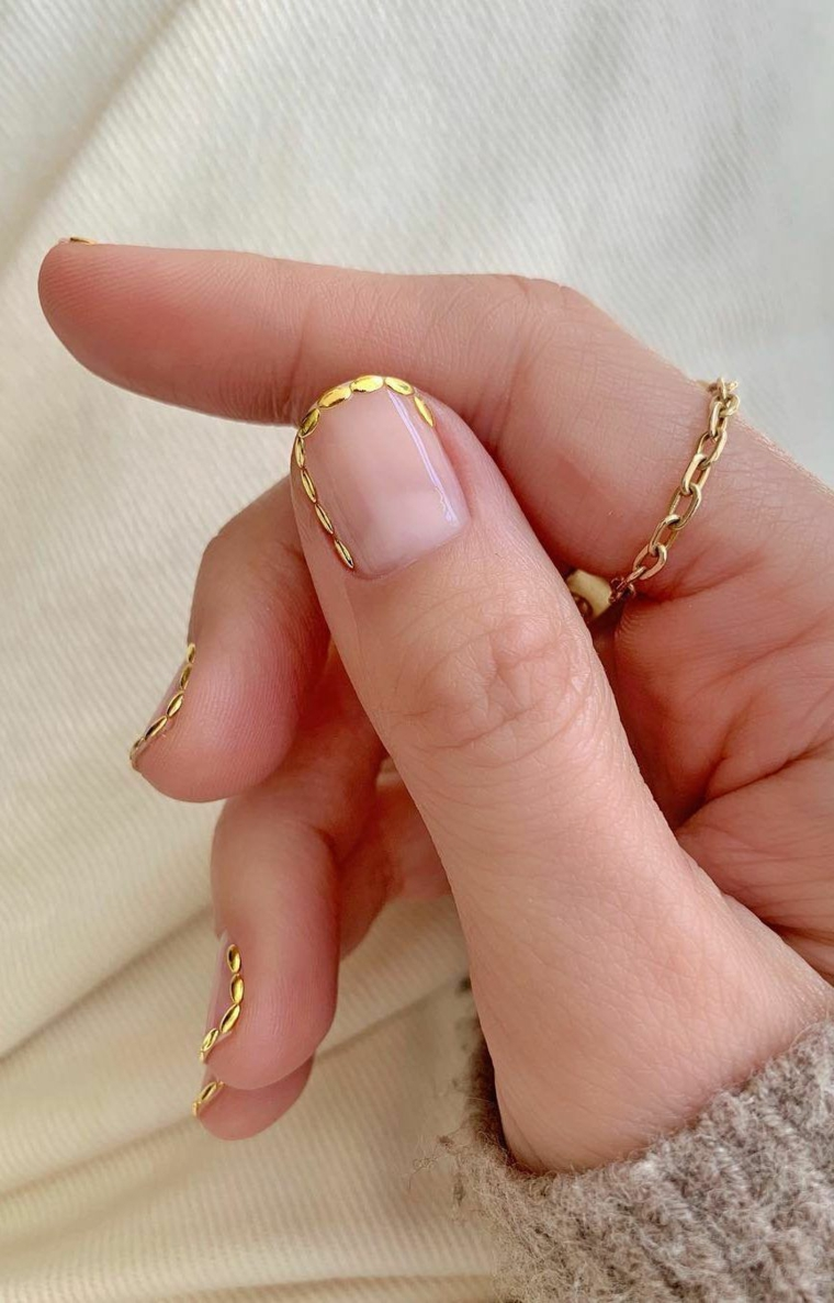 Trend-Nail 2020-gold-detail