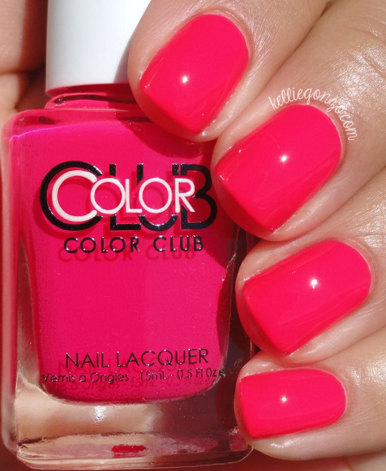 color-bright-pink-nail-autumn