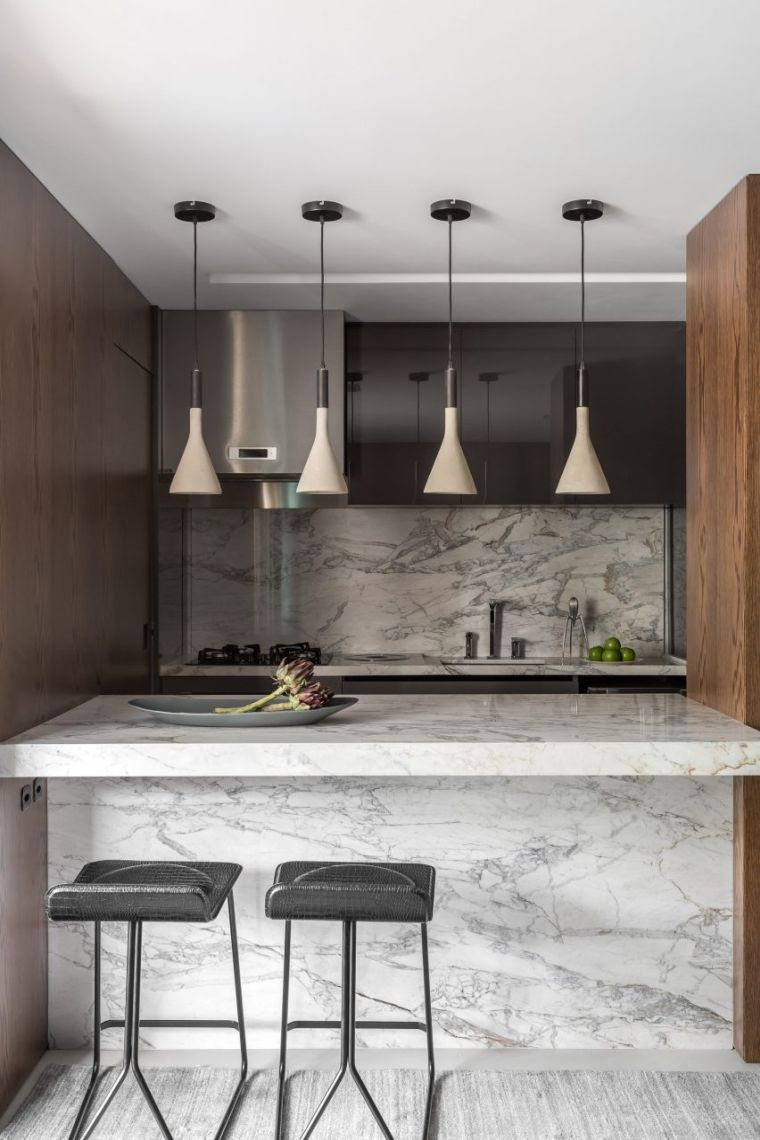 designs-for-kitchens-marble-bar