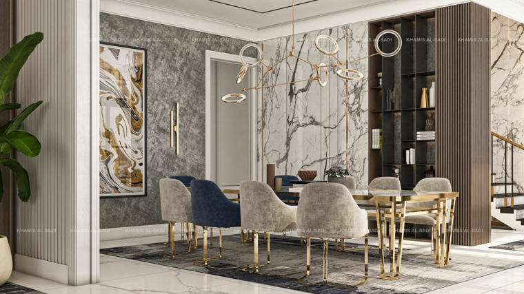 marble-for interiors-ideas-house-dining room
