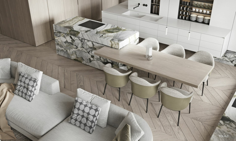 marble-for interior-island-style-options