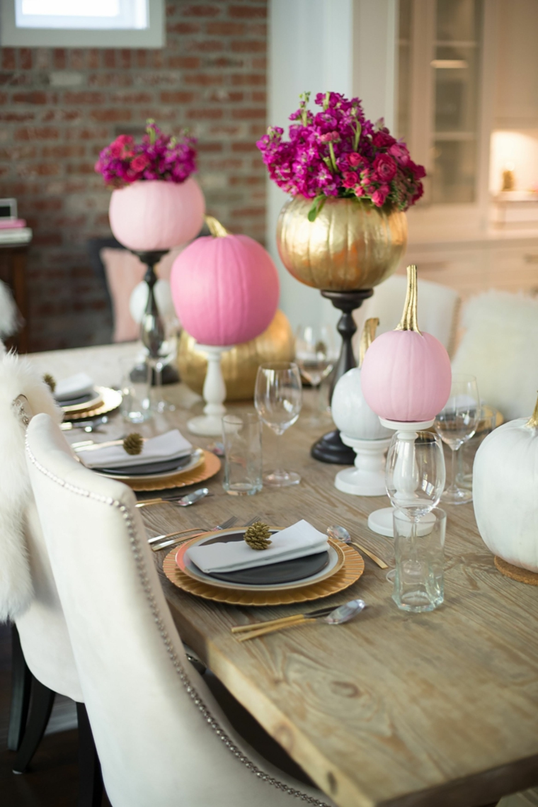 decorate-table-halloween-color-pink-ideas