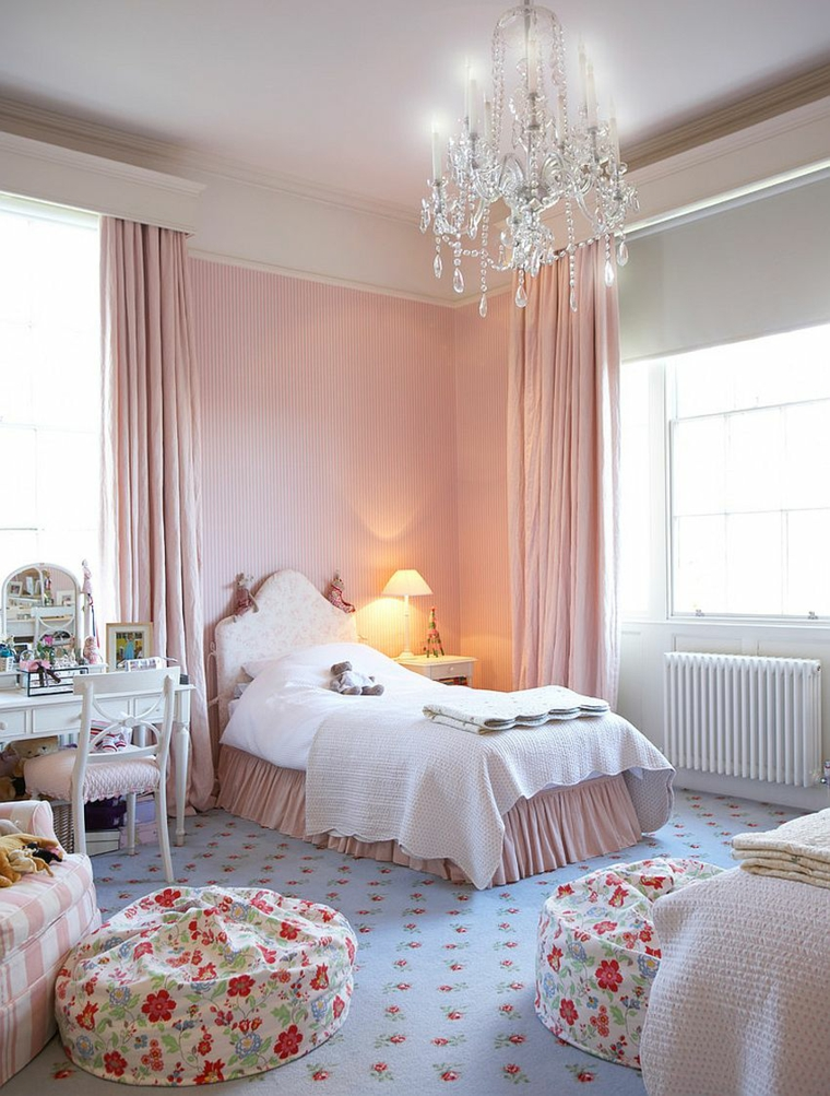 Shabby chiques quartos ideas-light-pink