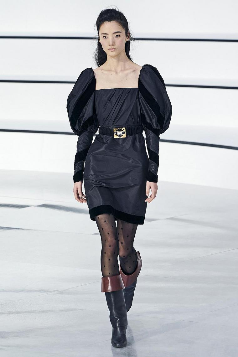 chanel-dress-black-short