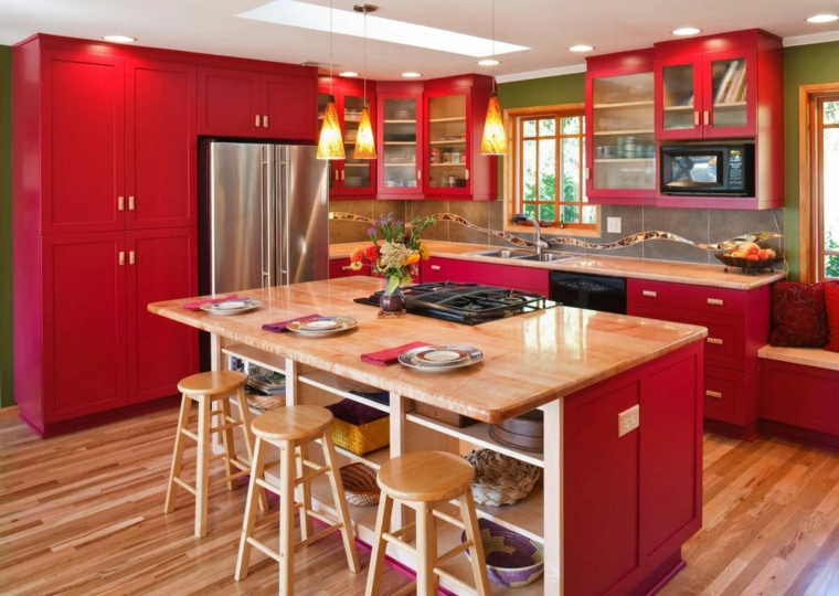 color-red-island-ideas