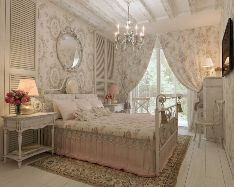bedroom-style-provence-design