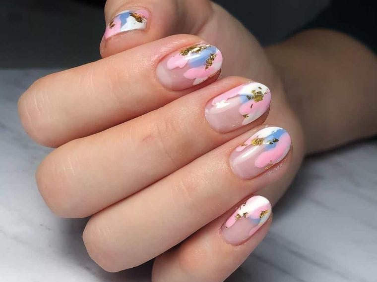 Art Decorated Nails