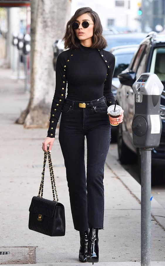 Outfits in black