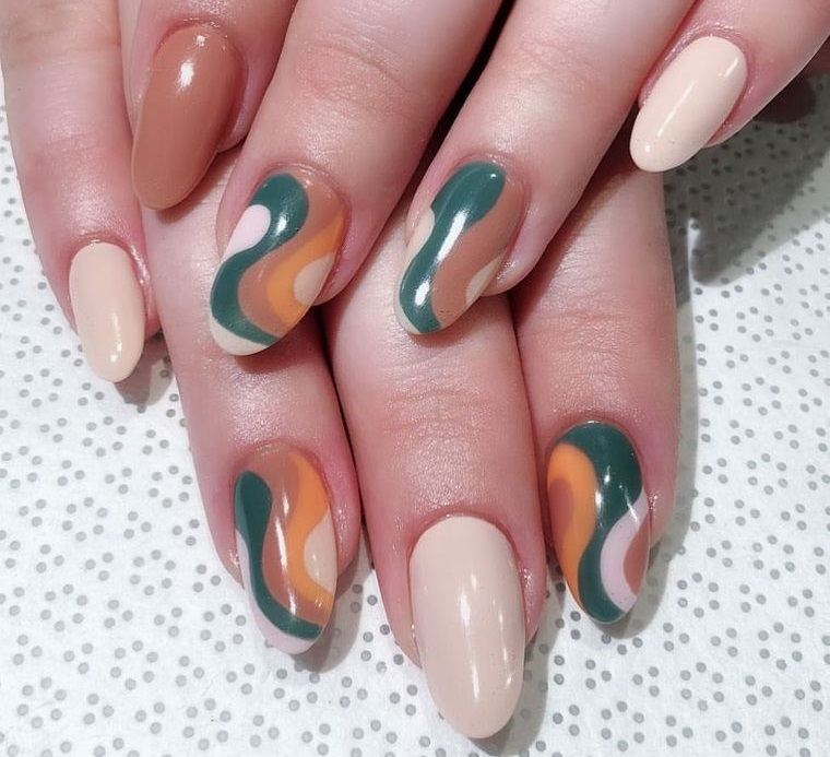 design independente nail art simples