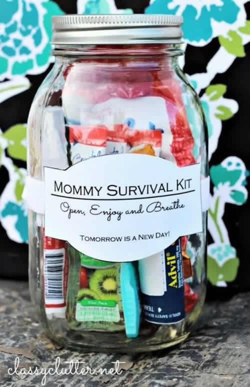 Survival boat for mom