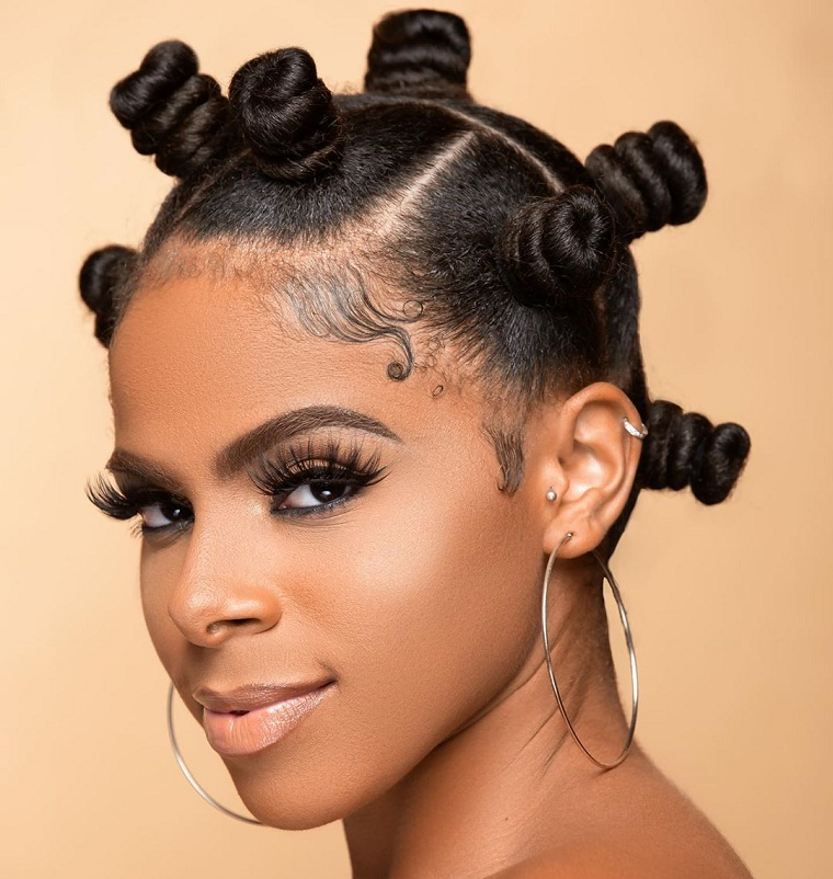 Easy hairstyles-knots-hair-style